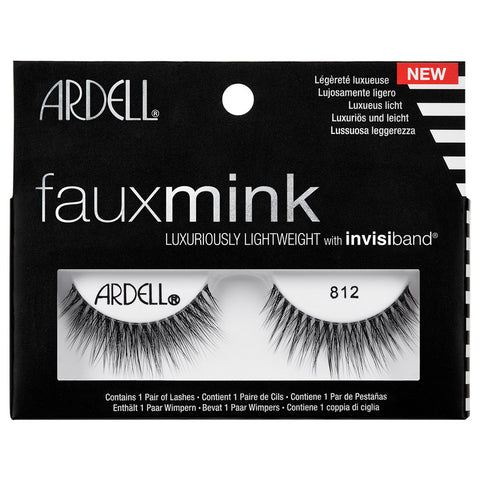 Ardell Faux Mink Lashes Black 812