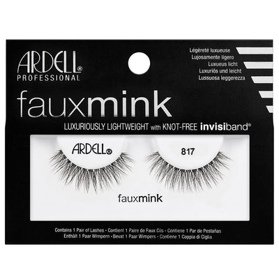 Ardell Faux Mink Lashes Black 817