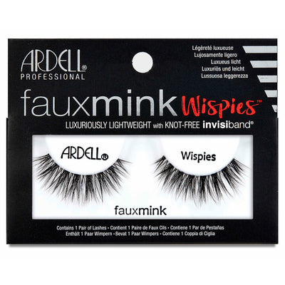 Ardell Faux Mink Lashes Black Wispies