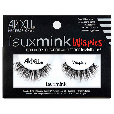 58cc65b8cf1 Ardell Faux Mink Lashes Black Wispies | False Eyelashes