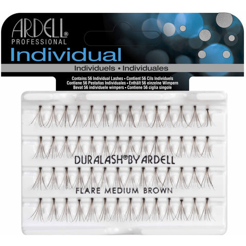 Ardell Individual Lashes - Ardell Duralash Flare Individual Lashes Medium Brown