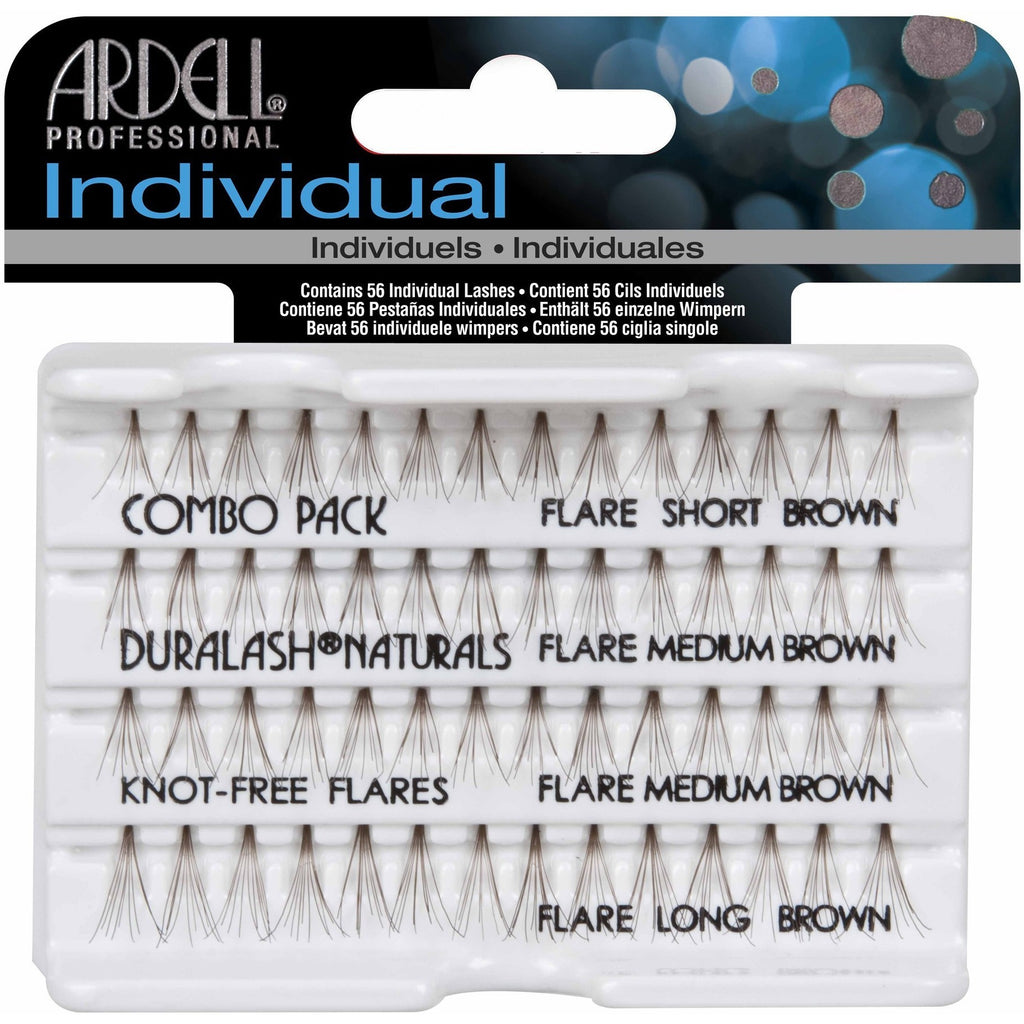 Ardell Individual Lashes - Ardell Duralash Naturals Individual Lashes Combo Brown
