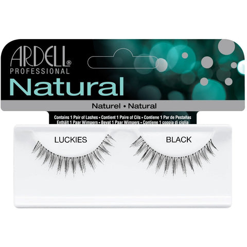 Ardell Invisiband Lashes - Ardell Invisiband Lashes Black - Luckies