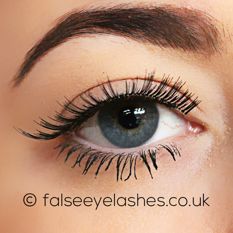 Ardell Fashion Lashes Black 136 - Front Shot