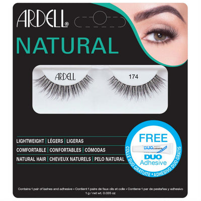 Ardell Lashes - 174 Black (with DUO Glue)