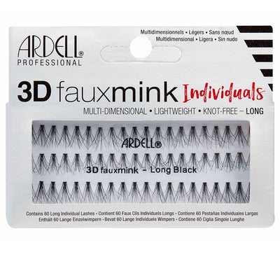 Ardell Lashes 3D Faux Mink Individuals - Long Black