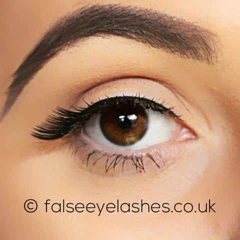 Ardell Edgy Lashes 404 - Front Shot