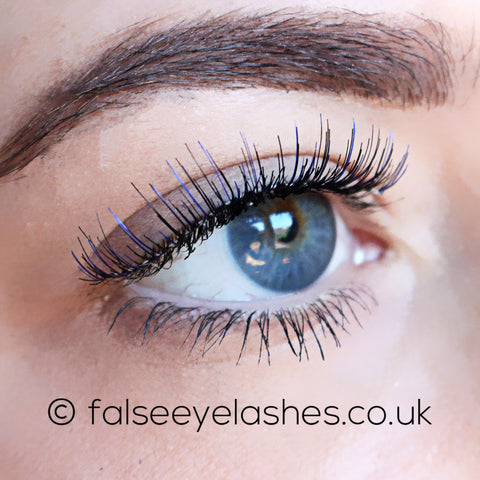 Ardell Color Impact Lashes 110 Blue (Model Shot 2)