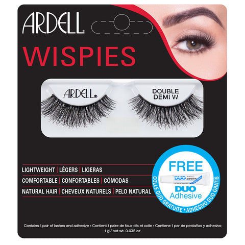 Ardell Double Demi Wispies Lashes (with DUO Glue)