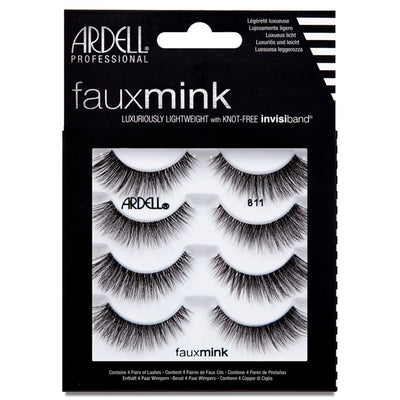 Ardell Faux Mink Lashes Black 811 Multipack (4 Pairs)