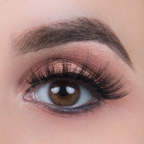 Ardell 3D Faux Mink Lashes Black 854 (Model Shot)