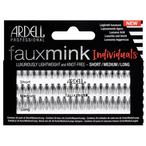 Ardell Lashes Faux Mink Individuals - Combo Black