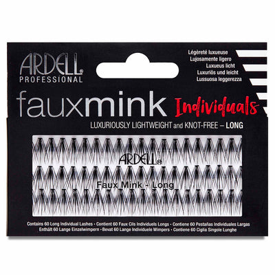 Ardell Lashes Faux Mink Individuals - Long Black