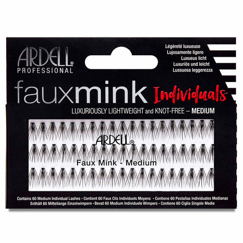 Ardell Lashes Faux Mink Individuals - Medium Black