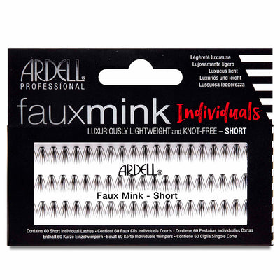 Ardell Lashes Faux Mink Individuals - Short Black