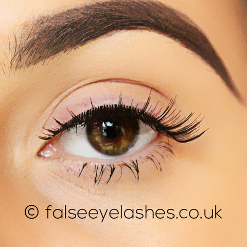 Ardell Invisiband Lashes Black - Hotties - Front Shot