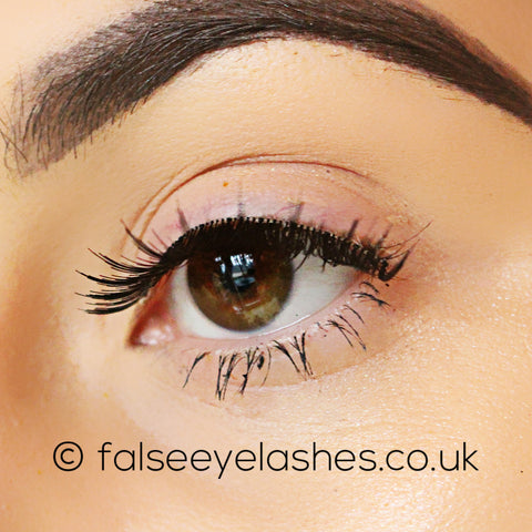 Ardell Invisiband Lashes Black - Hotties - Side Shot