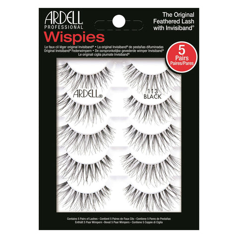 7a6b9690b29 Ardell Lashes Wispies 113 Multipack (5 Pairs) | False Eyelashes