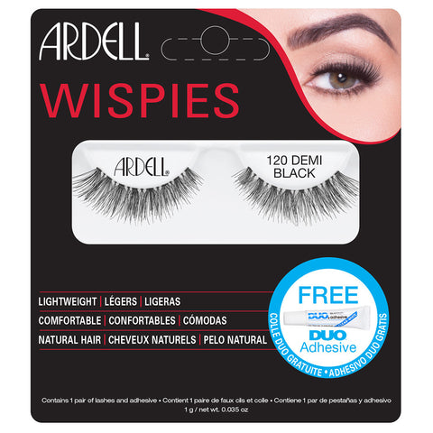 Ardell Wispies Lashes 120 (with DUO Glue)