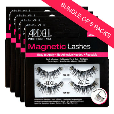 Ardell Magnetic Lashes Double Wispies (BUNDLE OF 5)