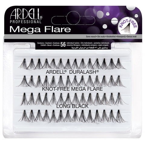Ardell Mega Flare Individual Lashes - Long Black