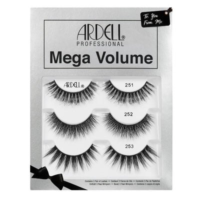 Ardell Mega Volume Lashes Gift Set (3 Pairs)