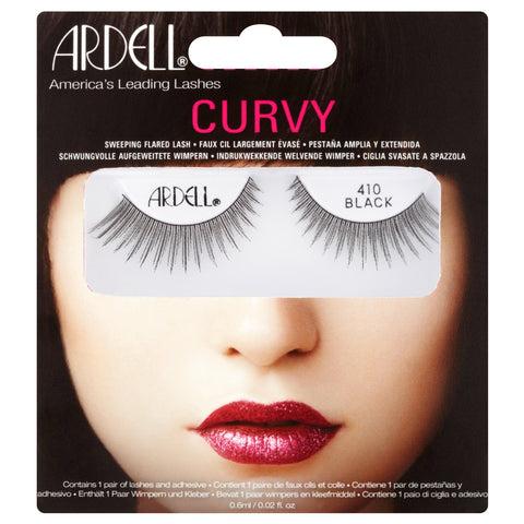 Ardell Curvy Lashes 410 (with Glue)