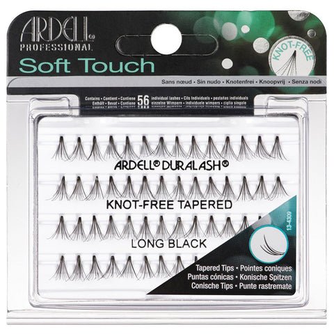 Ardell Soft Touch Knot Free Tapered Lashes - Long Black