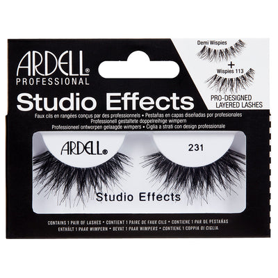 41021b45a78 Ardell Studio Effects Lashes Black 231