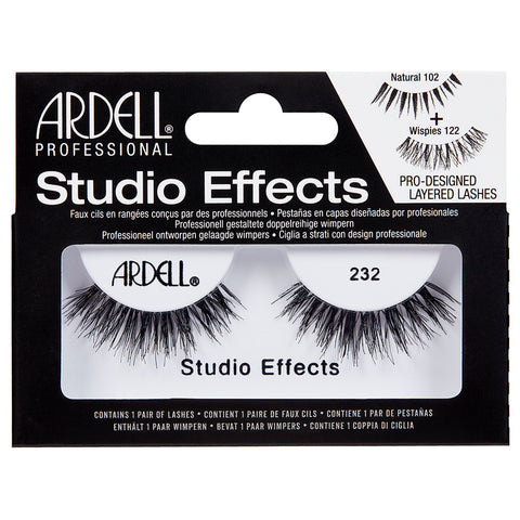 Ardell Studio Effects Lashes Black 232