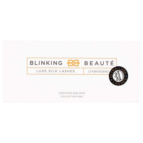 Blinking Beaute 3D Silk Lashes - Understated (Packaging Shot)