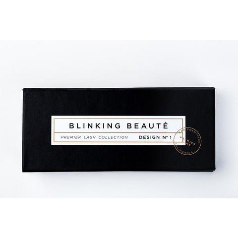 Blinking Beaute Mink Lashes - No. 1 (Box)