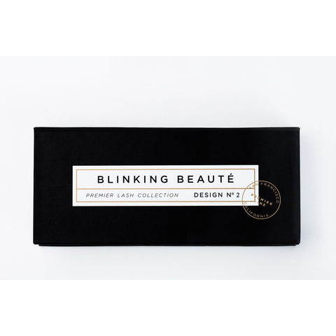 Blinking Beaute Mink Lashes - No. 2 (Box)