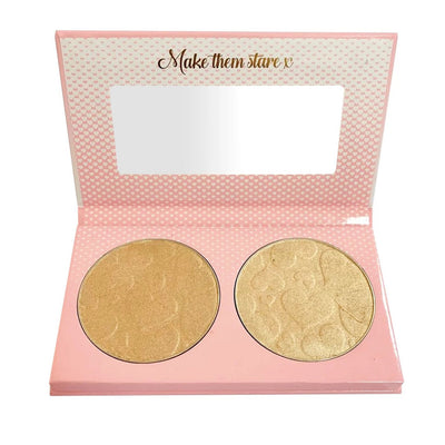 Doll Beauty Doll Light Highlighter Duo Champagne Supernova (12g x 2)