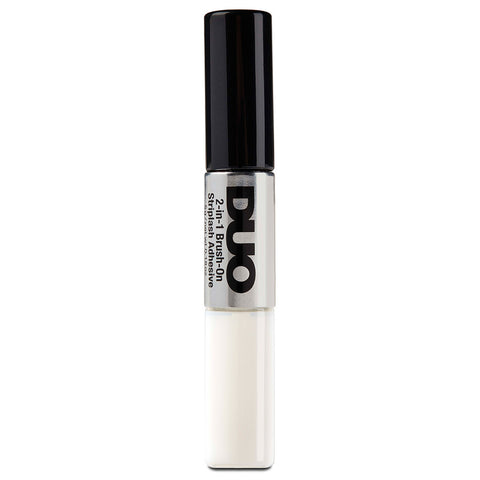 DUO 2-in-1 Brush-on Strip Lash Adhesive White/Clear + Dark Tone (5g) Loose