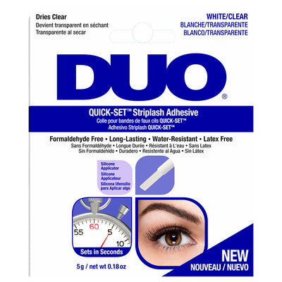 DUO Quick-Set Strip Lash Adhesive White/Clear (5g)