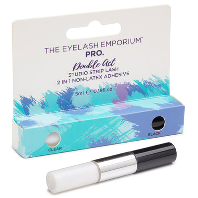 Eyelash Emporium Double Act Studio Strip Lash 2in1 Non-Latex Adhesive (5ml)