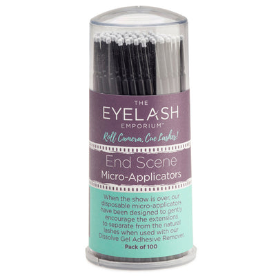 Eyelash Emporium End Scene Micro-Applicators (Pack of 100)