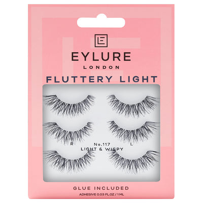 Eylure Texture Lashes 117 - Multipack