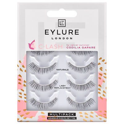 Eylure C-Lash Naturals Lash Replacement Multipack (4 Pairs)