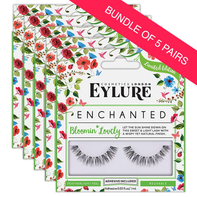 Eylure Enchanted Lashes Bloomin' Lovely (BUNDLE OF 5 PAIRS)