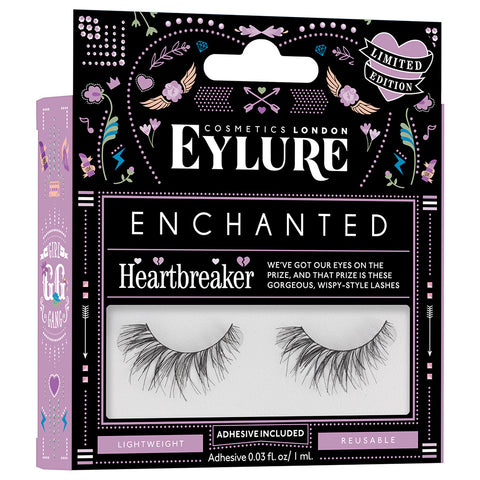 Eylure Enchanted Lashes - Heartbreaker (Angled)