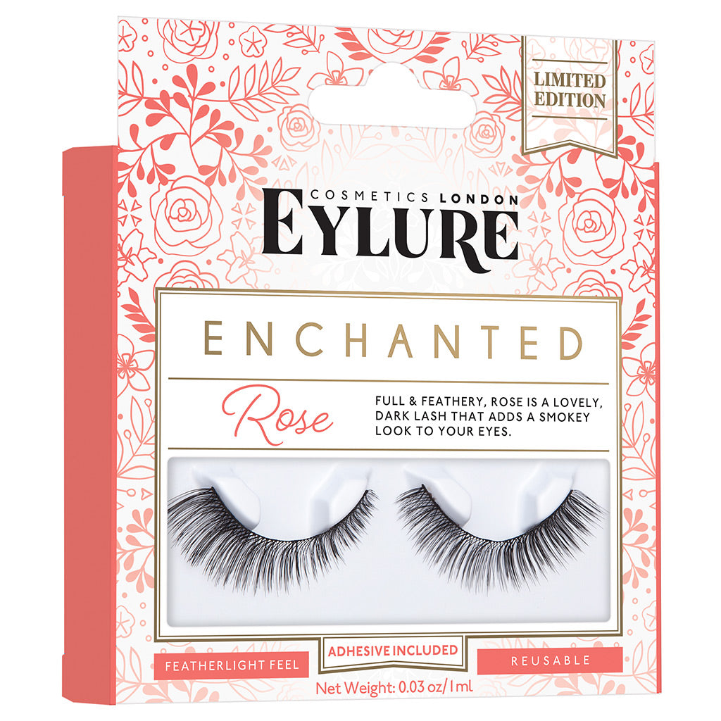 Eylure Enchanted Lashes - Rose (Angled)