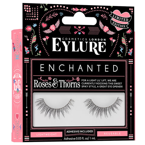 Eylure Enchanted Lashes - Roses and Thorns (Angled)