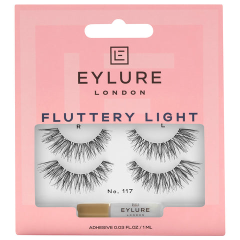 Eylure Fluttery Light Lashes 117 Twin Pack