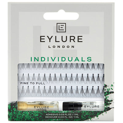 Eylure Pro-Lash Individual Lashes Fine to Full Black