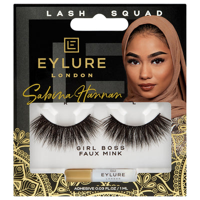 Eylure Lash Squad False Eyelashes Sabina Hannan Girl Boss