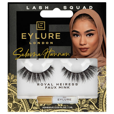 Eylure Lash Squad False Eyelashes Sabina Hannan Royal Heiress