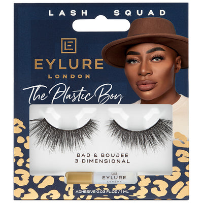 Eylure Lash Squad False Eyelashes The Plastic Boy Bad and Boujee