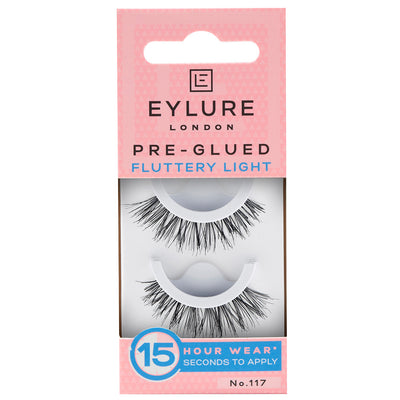 Eylure Pre-Glued Texture Lashes 117